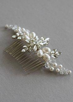 Bridal Headdress, Bridal Comb, Hair Comb Wedding, Bridal Headpieces, Crown Hairstyles, Wedding Hairstyles, Hair Decorations, Handmade Flowers, Hair Jewelry