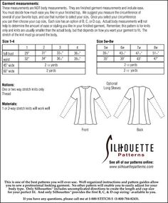 Silhouette Patterns, Inc. - Giorgio Top