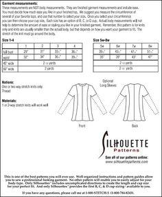 Silhouette Patterns, Inc. - Giorgio Top