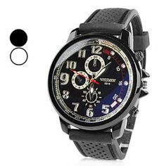 Tanboo Unisex Gentle Rubber Analog Quartz Wrist Watch (Assorted Colors) by Tanboo. $9.99. Casual Watches. Wrist Watches. Men's Watche. Gender:Men'sMovement:QuartzDisplay:AnalogStyle:Wrist WatchesType:Casual WatchesBand Material:RubberBand Color:BlackCase Diameter Approx (cm):4.5Case Thickness Approx (cm):1Band Length Approx (cm):21.3Band Width Approx (cm):2