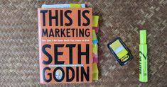 """I believe this is Seth's most important book since Permission Marketing. I love his vision of """"doing work that matters for people who care"""". Seth Godin, Copywriting, New Books, Marketing, Learning, Studying, Teaching, Onderwijs"""