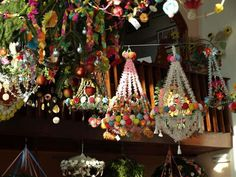 Podłaźniczka i pająki - Polish paper chandeliers