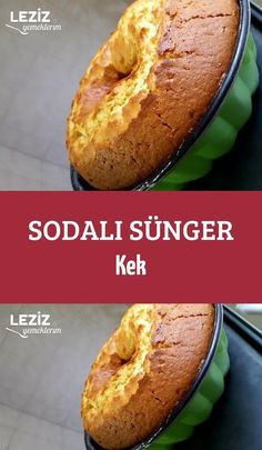 Sponge Cake with Soda - My Delicious Food - Dessert Recipes - Videolu Tarif - Leziz Yemek Tarifleri - Videolu Yemek Tarifleri - Pratik Yemek Tarifleri Dessert Oreo, Dessert Cake Recipes, Desserts Keto, Easy Desserts, Food Cakes, Mousse Au Chocolat Torte, Pasta Cake, Turkish Recipes, Sponge Cake