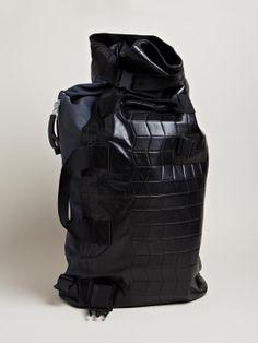 Lanvin Men's Waterproof Duffel Bag