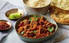 Add some spice to your dinner tonight with a Lamb and Chickpea Korma Korma, Easter Recipes, Nutritious Meals, Dinner Tonight, Lamb, Meal Planning, Curry, Easy Meals