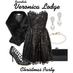 Outfits Riverdale, Riverdale Fashion, Riverdale Set, Riverdale Veronica, Veronica Lodge Outfits, Christmas Lodge, Fandom Outfits, Reiss, Gossip Girl