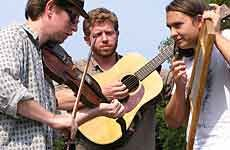 "Music video — Black Twig Pickers performing ""Boatman"" at Gillie's, Blacksburg, on Thursday night"