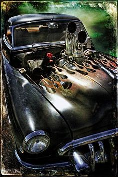 Hot Rod Builds and Project Videos Hot Rod How To Videos Metal Work / Welding Videos Paint & Pinstriping Videos Performance Tips and Tricks Kustom Kulture Videos Smoke and Fire Rat Rods, Chevrolet Bel Air, Chevrolet Chevelle, Muscle Cars, Mopar, Sweet Cars, Us Cars, Old Trucks, Pin Up Girls