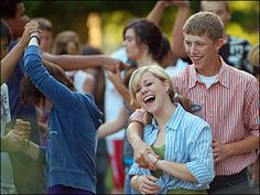"""Today (November 29) is Square Dance Day! Don't miss the opportunity to """"swing your partner"""" to the lively beat today!"""
