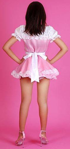 Florentina Satin Maid Uniform