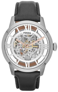 ♥ #Fossil #Watches exclusively at #CapriJewelersArizona ~ www.caprijewelersaz.com ♥  Fossil ME3041 Townsman Skeleton Automatic