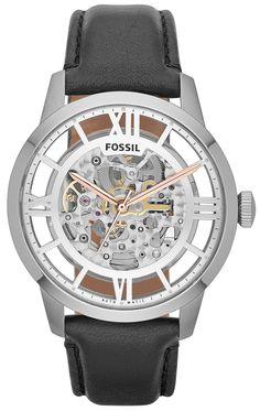 ♥ #Fossil #Watches exclusively at #CapriJewelersArizona ~ www.caprijewelersaz.com ♥  Fossil ME3041 Townsman Skeleton Automatic