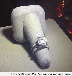 Diamonds are a girl's best friend. Hidden penis!