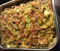 Grün-weiße Lasagne mit Spinat und Fisch (All-in-one-Gericht; überarbeitet)