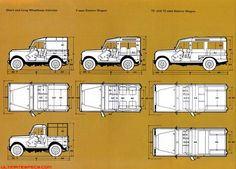 Land Rover Defender Blueprint images