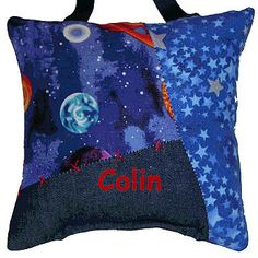 Boy's Pillow: Outer Space