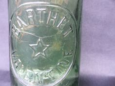 Old Bottle Valentine Barthet by VintageRetroOddities on Etsy