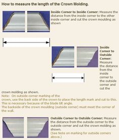 Crown molding tutorial