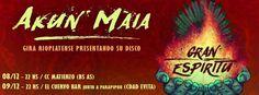 AKUN MAIA: lanzamiento del disco Gran Espíritu y gira presentación en Buenos Aires