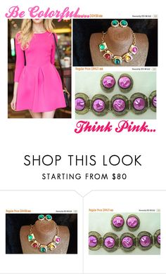 """Be Colorful..."" by martinimermaid ❤ liked on Polyvore featuring vintage"