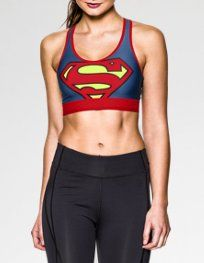 I love these Women's Under Armour® Alter Ego HeatGear® Sports Bras. Use heat transfer materials and a heat press to sport your alter ego. Athletic Outfits, Athletic Wear, Sport Outfits, Athletic Clothes, Workout Attire, Workout Wear, Workout Shirts, Supergirl, Sport Fashion