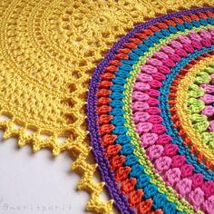 Crochet mandela.