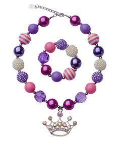 Pretty Princess Chunky Jewelry Set - Bailey's Blossoms - 1