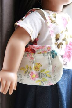 "Parker Purse, a Shoulder Purse with Pleats for American Girl or other 18"" Dolls on Etsy, $5.00"