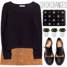 changes by evangeline-lily on Polyvore featuring polyvore fashion style MANGO Emilio Pucci Minimarket Zara