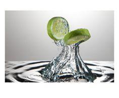 Lime Fresh Splash Lámina fotográfica por Steve Gadomski en AllPosters.es