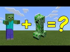 I Combined A Zombie And A Creeper In Minecraft Here S What Happened Youtube Minecraft Tips Creepers Zombie