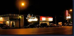 8 Mile - The Gates of Detroit. Bakers jazz club owned by Anita baker
