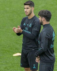 Asnesio and Isco Real Madrid Players, Real Madrid Football, Equipe Real Madrid, Sports Mix, Isco Alarcon, Neymar Jr, Soccer Training, Football Players, Ronaldo