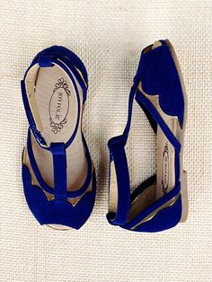 Stella T-Strap Flat by Joyfolie cute kid shoes