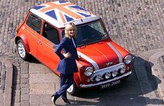Twiggy & the last classic Mini