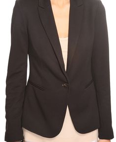 Ponte Knit Jacket $32.80