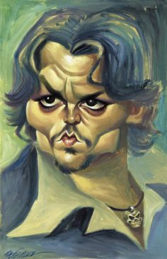 CARICATURES- JOHNNY DEEP
