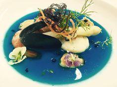 Seafood soup depicting the sea. #interdema #food #cuisine #foodpresentation #italianchief #lifestyle #стильжизни