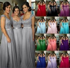 Plus-Size-2-26W-Chiffon-Long-Bridesmaid-Gown-Party-Cocktail-Evening-Prom-Dress