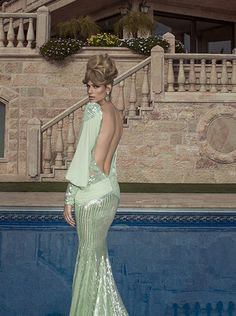 Glamorous Oved Cohen Evening Dresses 2014 - Be Modish Estilo Fashion, Fashion Moda, Elegant Dresses, Pretty Dresses, Elegant Gown, Glamour, Beautiful Gowns, Beautiful Beautiful, Couture Dresses