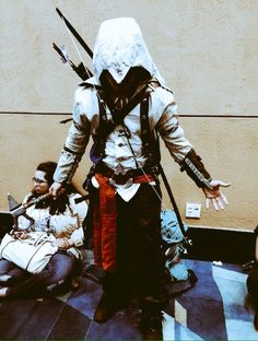 Cosplaying Connor Kenway from Assassin's Creed 3