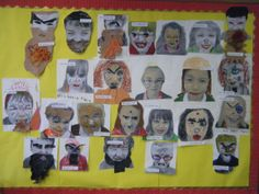 Year 2 turned into Roald Dahl's nasty Mr and Mrs Twit! Class Displays, School Displays, Classroom Displays, Roald Dahl Activities, Literacy Activities, Roald Dalh, World Book Day Ideas, Roald Dahl Day, The Twits