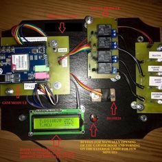 Arduino GSM home automation system