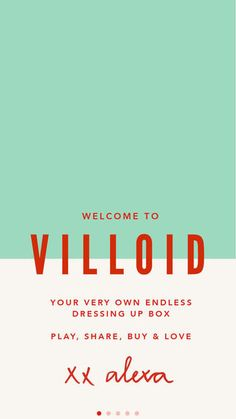 Villoid - your social fashion app by SOBAZAAR