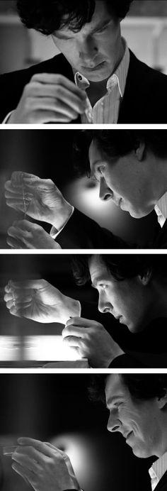 Benedict as Sherlock <3