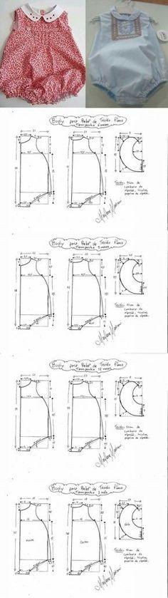 Pesochnik para el chiquitín. El patrón (la Costura y el corte) | la Revista la Inspiración de la Laborera
