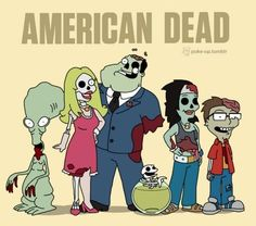 Zombie American Dad
