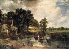 John Constable The Hay Wain painting is available for sale; this John Constable The Hay Wain art Painting is at a discount of off. Landscape Art, Landscape Paintings, Nature Paintings, John Constable Paintings, National Gallery, Great Paintings, Oil Paintings, Romanticism Paintings, Animal Paintings