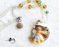 collana fimo  / polymerclay / zingaracreativa / di ZingaraCreativa