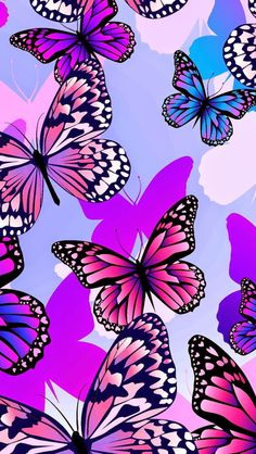 iPhone wallpaper - Best of Wallpapers for Andriod and ios Dragonfly Wallpaper, Butterfly Wallpaper Iphone, Dragonfly Art, Purple Wallpaper, Cool Wallpaper, Butterfly Drawing, Butterfly Flowers, Butterfly Wings, Beautiful Butterflies